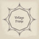 Vector vintage frame Stock Photos