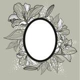 Vector vintage frame design vector illustration