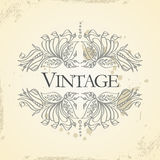 Vector vintage frame Royalty Free Stock Photo