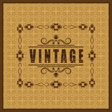 The vector vintage frame Royalty Free Stock Images