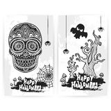 Vector vintage Halloween set of banners Royalty Free Stock Photo