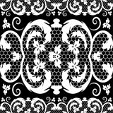 Vector vintage lace Royalty Free Stock Photo