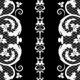 Vector vintage lace Stock Images