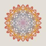 Vector vintage Mandala sign frame. Vintage decorative elements. Oriental pattern. Vector illustration. Islam, Arabic, Indian, turkish, pakistan, chinese Royalty Free Stock Photo