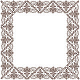 Vector vintage old frame ornament retro. Decor Royalty Free Stock Images