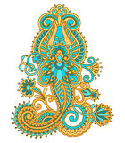 Vector vintage ornament. Stock Images