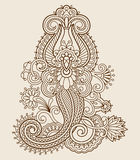 Vector vintage ornament. Stock Photography