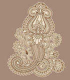 Vector vintage ornament. Royalty Free Stock Photography