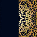 Vector vintage ornamental background. Stock Photo
