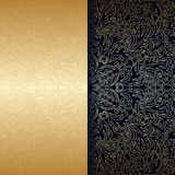 Vector vintage ornamental background. Stock Photos