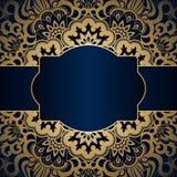 Vector vintage ornamental background. Stock Photos