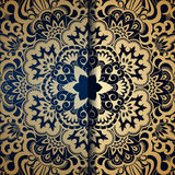 Vector vintage ornamental background. Stock Photography