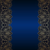 Vector vintage ornamental background. Stock Photo