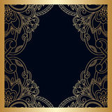 Vector vintage ornamental background. Royalty Free Stock Photos