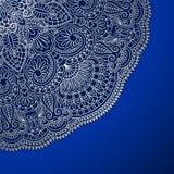 Vector vintage ornamental background. Vector vintage floral decorative background for design invitation card, packing, booklet, print Royalty Free Stock Photography