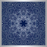 Vector vintage ornamental background. Vector vintage pattern for print, embroidery you can use this pattern for carpet, shawl, pillow, cushion Royalty Free Stock Photos