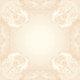 Vector vintage ornate frame Stock Images