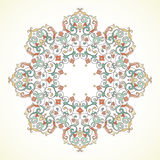 Vector vintage pattern in Eastern style. Royalty Free Stock Images