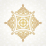 Vector vintage pattern in Eastern style. Stock Photography