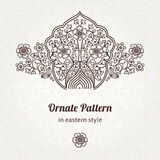Vector vintage pattern in Eastern style. Stock Image