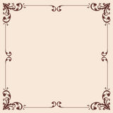 Vector Vintage pattern. Royalty Free Stock Image