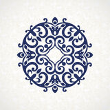 Vector vintage pattern in Victorian style. Stock Images