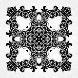 Vector vintage pattern in Victorian style. Royalty Free Stock Photos