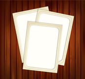 Vector vintage photo frames Stock Image