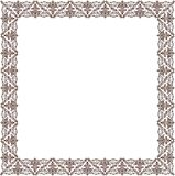 Vector vintage retro frame ornament Royalty Free Stock Photo