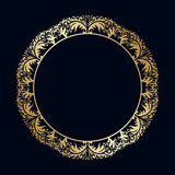 Vector vintage round ornaments. Royalty Free Stock Photo