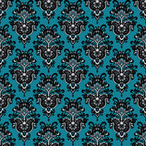 Vector vintage seamless flower damask background. This is file of EPS10 format Stock Images