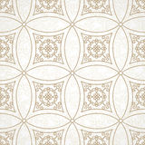 Vector vintage seamless pattern in Eastern style. Stock Photos