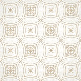 Vector vintage seamless pattern in Eastern style. Stock Photography
