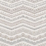 Vector vintage seamless pattern of lacy crochet edges. Stock Image