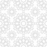 Vector vintage seamless pattern Royalty Free Stock Image