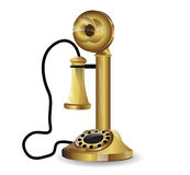 Vector vintage telephone Stock Photo
