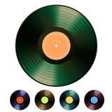 vector vinyl Στοκ Εικόνες
