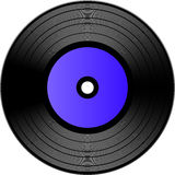 Vector vinyl record Royalty Free Stock Images