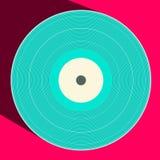 Vector Vinyl Record Royalty Free Stock Photography