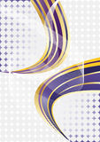 Vector violet abstract background Stock Images