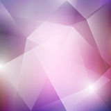 Vector Violet Abstract Background. Abstract vector violet polygonal background with halftone texture. Vector business background. Technology vector background Stock Images