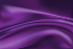 Vector of Violet silk fabric background Stock Photo