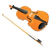 Vector violin Stock Images