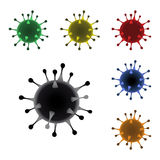 Vector virus Stock Photography
