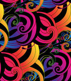 Vector vivid seamless abstract hand drawn pattern Stock Photos