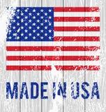 Vector Vlag van de Verenigde Staten Royalty-vrije Stock Afbeelding
