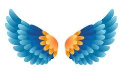 Vector vleugels vector illustratie