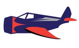 Vector vliegtuig Stock Foto