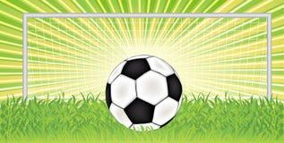Vector voetbal stock illustratie