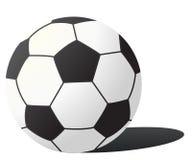 vector voetbalbal Royalty-vrije Stock Afbeelding